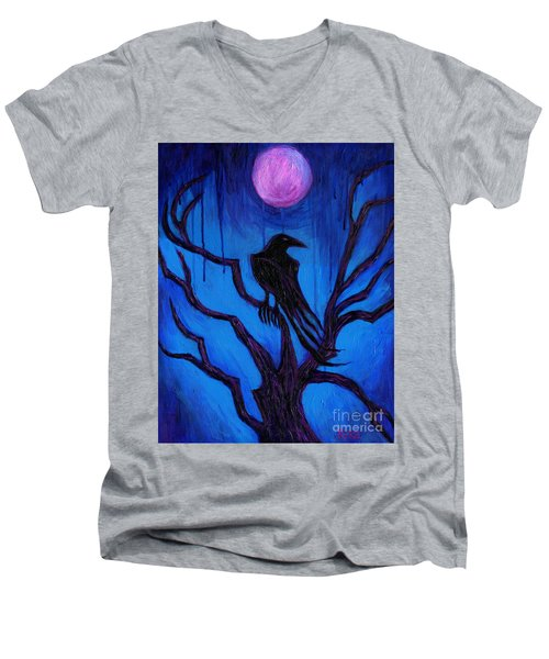 The Raven Nevermore Men's V-Neck T-Shirt