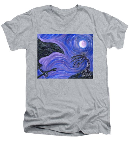 The Raven Men's V-Neck T-Shirt