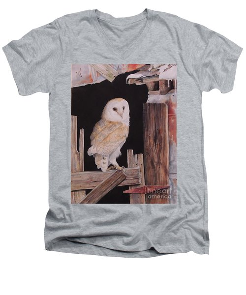 The Resting Place.  Sold Men's V-Neck T-Shirt