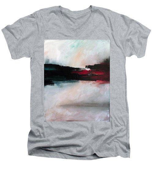 The River Tethys Part Two Of Three Men's V-Neck T-Shirt
