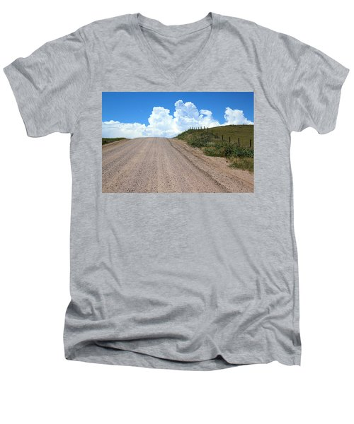 The Road To Nowhere Men's V-Neck T-Shirt