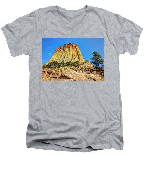 The Rock Shop Men's V-Neck T-Shirt
