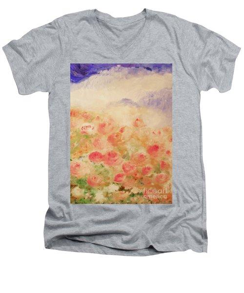 The Rose Bush Men's V-Neck T-Shirt