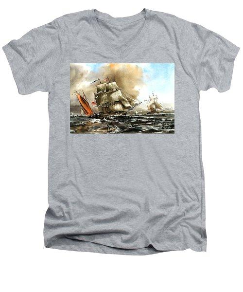 The Rose In Bantry Bay Men's V-Neck T-Shirt