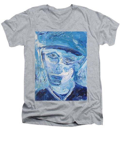 The Sad Man Men's V-Neck T-Shirt