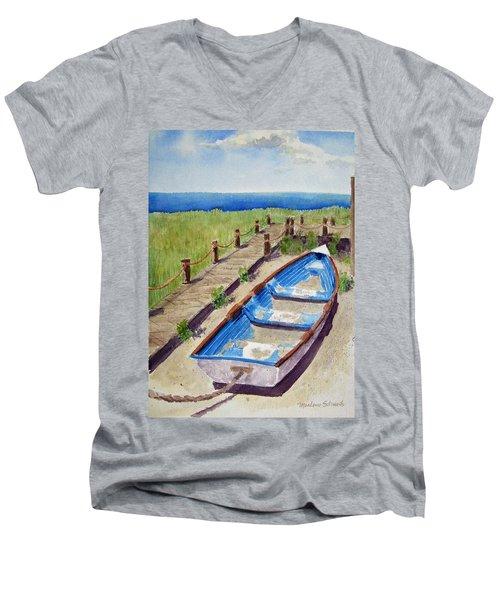 The Sandy Boat Men's V-Neck T-Shirt
