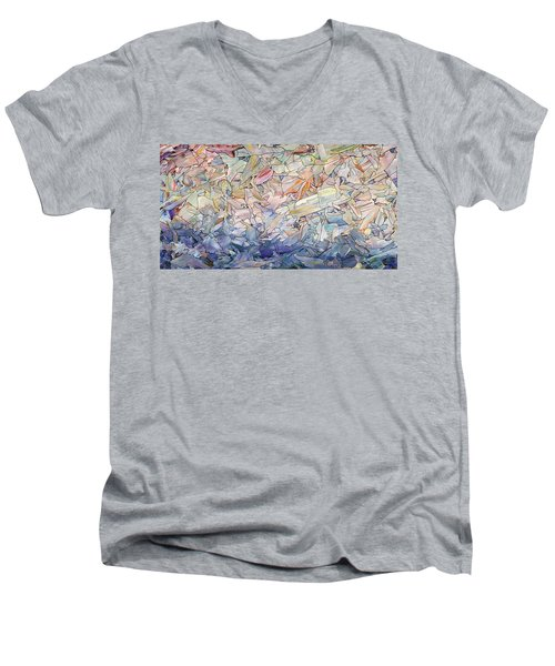 Fragmented Sea Men's V-Neck T-Shirt