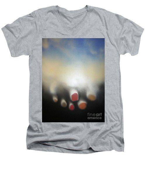 The Sky Is Falling Men's V-Neck T-Shirt
