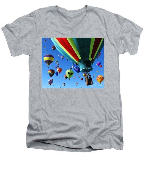 The Sky Is Full Men's V-Neck T-Shirt
