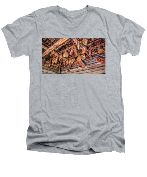 The Smokehouse Men's V-Neck T-Shirt