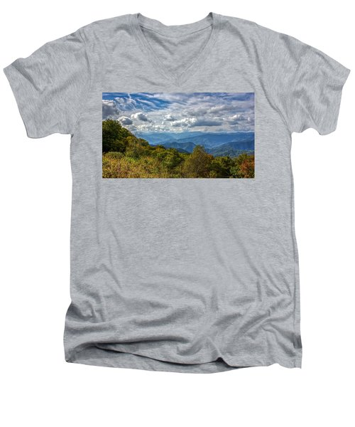 The Smokys Men's V-Neck T-Shirt