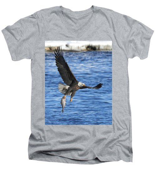 Men's V-Neck T-Shirt featuring the photograph The Spoils by Coby Cooper