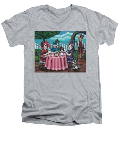 The Tea Party Men's V-Neck T-Shirt