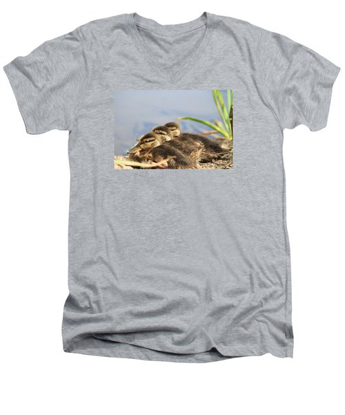 Men's V-Neck T-Shirt featuring the photograph The Three Amigos by Amy Gallagher