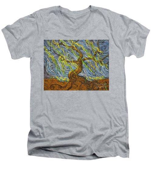 The Tree Have Eyes Men's V-Neck T-Shirt