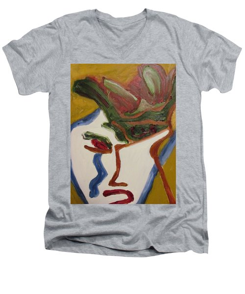 The Warrior Men's V-Neck T-Shirt