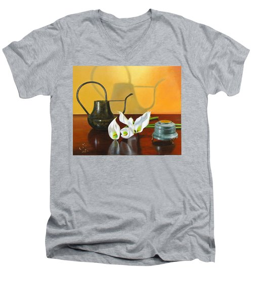 The Watering Can Men's V-Neck T-Shirt