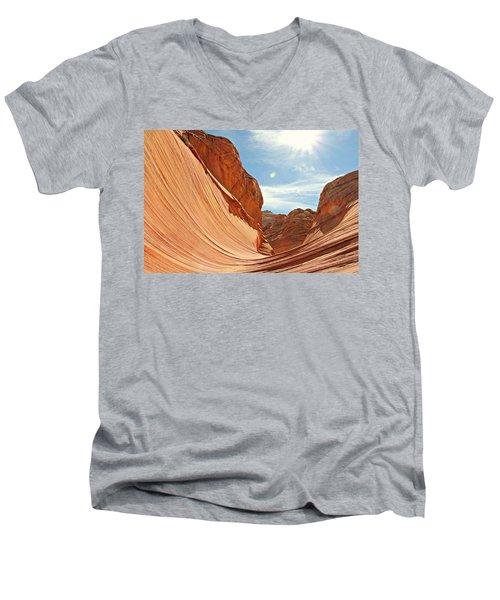 The Wave Rock #1 Men's V-Neck T-Shirt