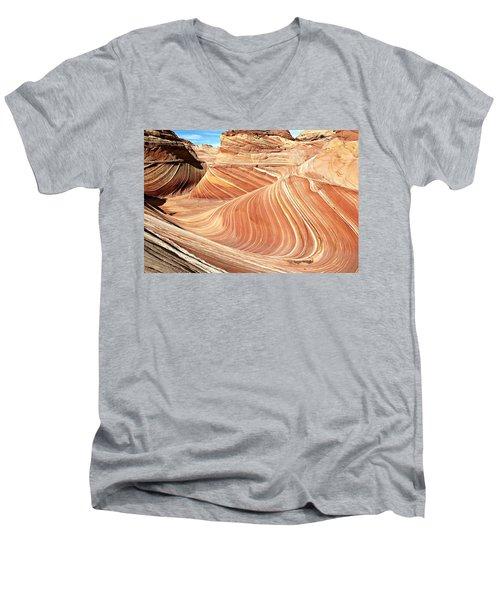 The Wave Rock #2 Men's V-Neck T-Shirt