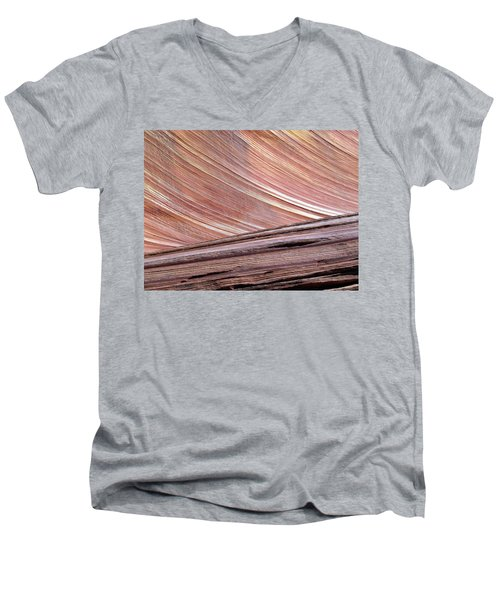 'the Wave' North Coyote Buttes 02 Men's V-Neck T-Shirt