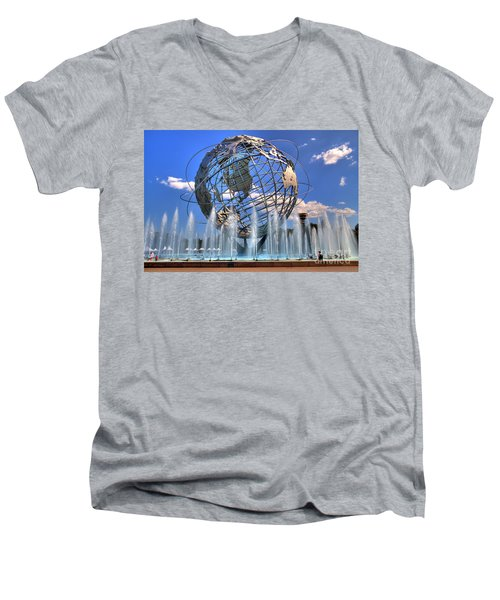 The Whole World In My Hands Men's V-Neck T-Shirt
