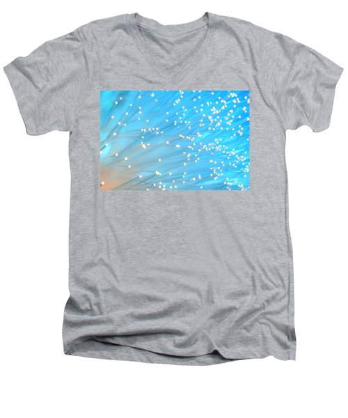 Men's V-Neck T-Shirt featuring the photograph The Wind by Dazzle Zazz