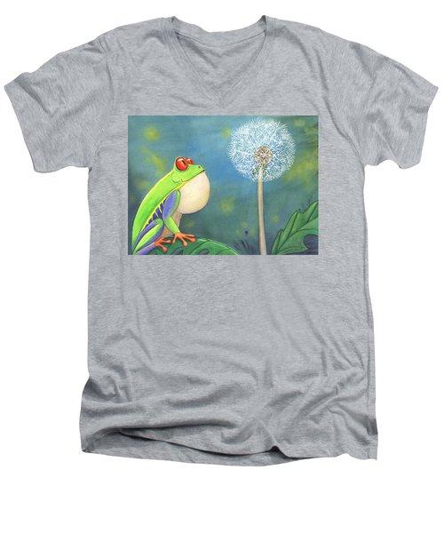The Wish Men's V-Neck T-Shirt