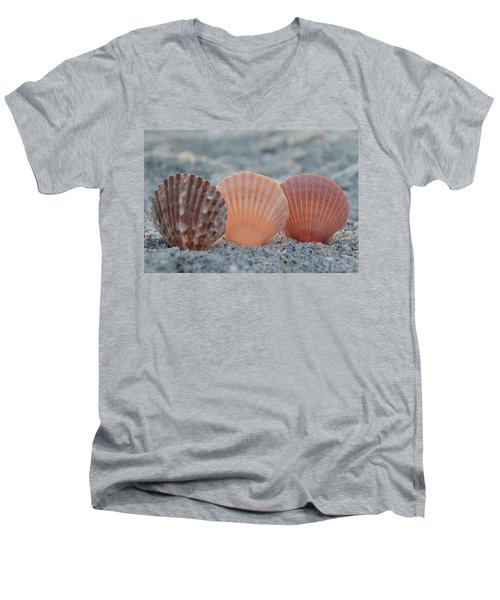 Men's V-Neck T-Shirt featuring the photograph There Comes A Time... by Melanie Moraga