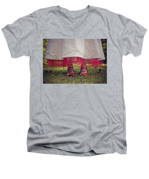 This Place This Time Men's V-Neck T-Shirt