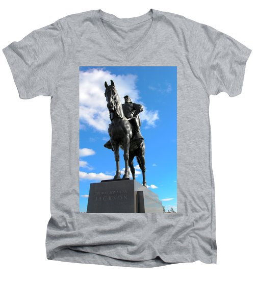 Thomas Jackson Men's V-Neck T-Shirt