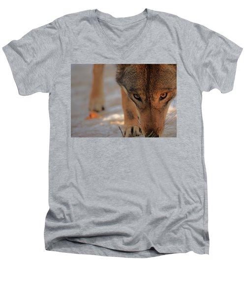 Those Eyes Men's V-Neck T-Shirt by Karol Livote
