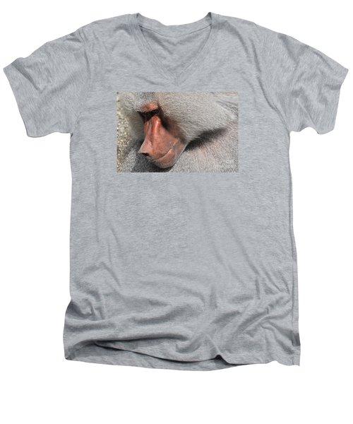 Thoughtful Men's V-Neck T-Shirt
