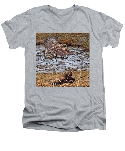 Threat From Above Men's V-Neck T-Shirt