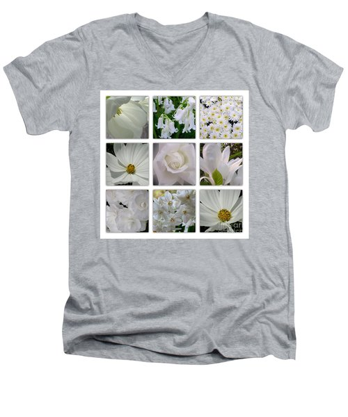 Through The White Picture Window Men's V-Neck T-Shirt