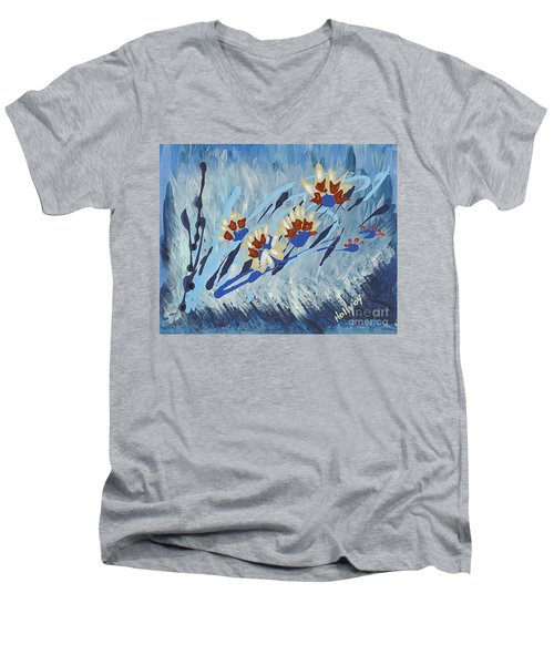 Thunderflowers Men's V-Neck T-Shirt