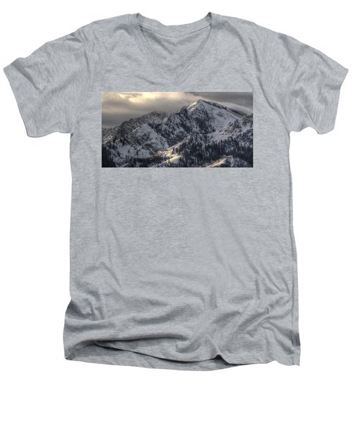 Thurston Peak Pano Men's V-Neck T-Shirt