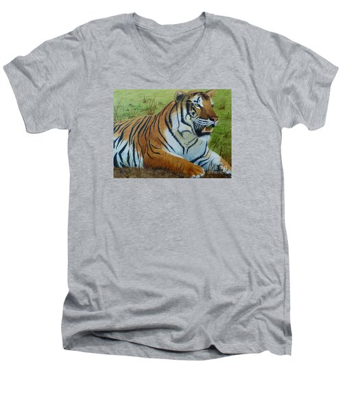 Tiger Tiger Men's V-Neck T-Shirt