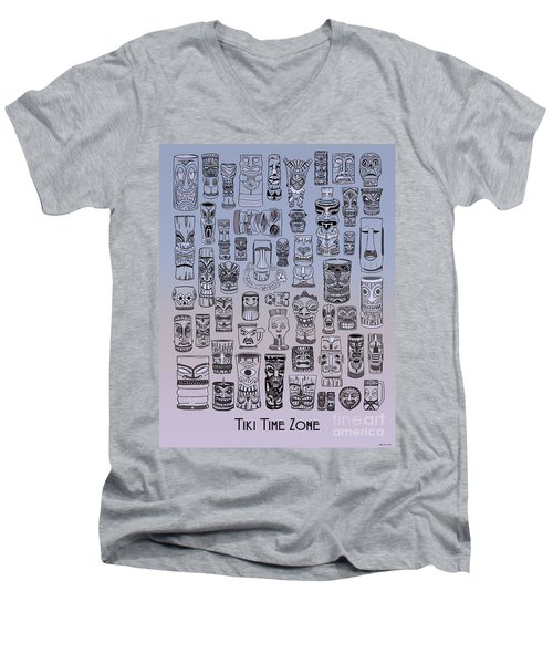 Tiki Cool Zone Men's V-Neck T-Shirt