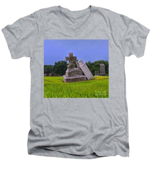 Till Death Do Us Part Men's V-Neck T-Shirt