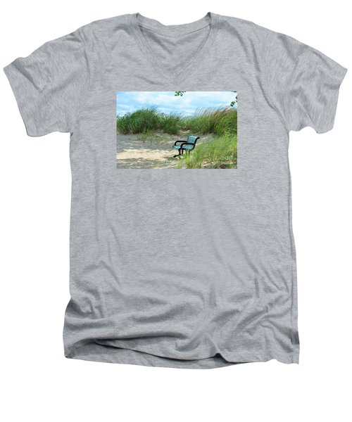 Time Out Men's V-Neck T-Shirt