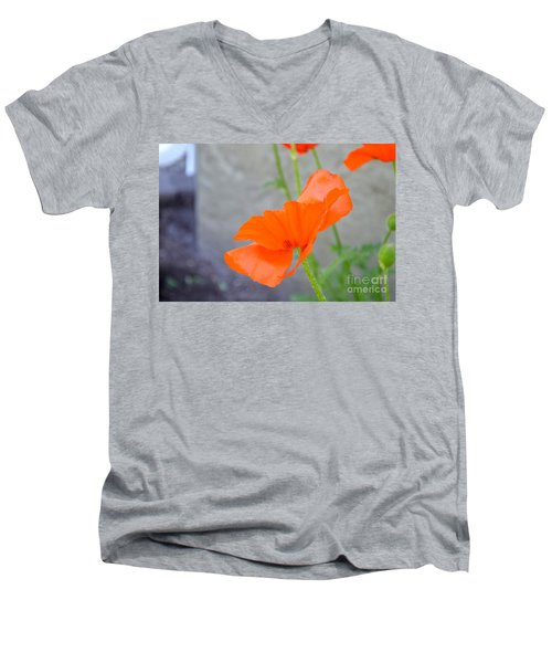 Time To Fly Men's V-Neck T-Shirt