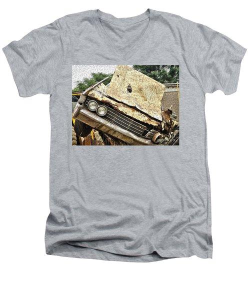 Tired And Broken Men's V-Neck T-Shirt