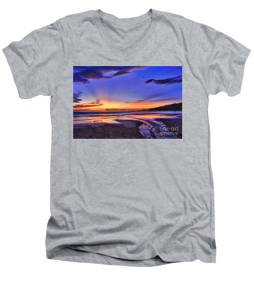 To The Sea Men's V-Neck T-Shirt