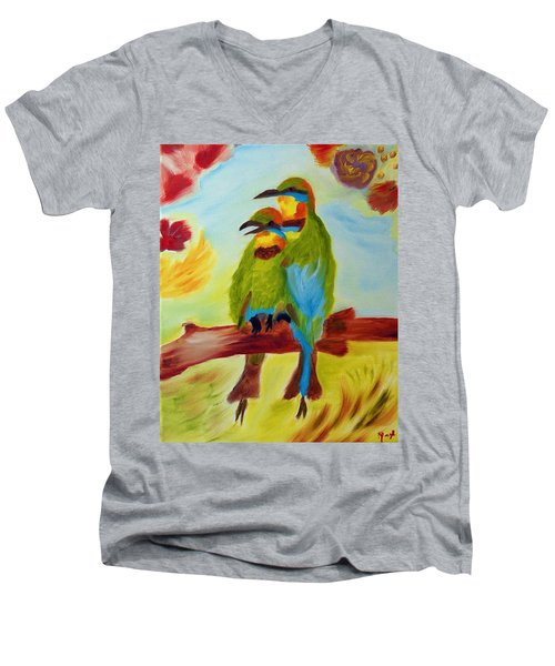 Together Men's V-Neck T-Shirt
