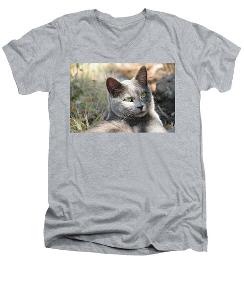 Tom Cat Men's V-Neck T-Shirt