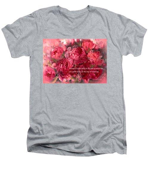 Tomorrow Men's V-Neck T-Shirt