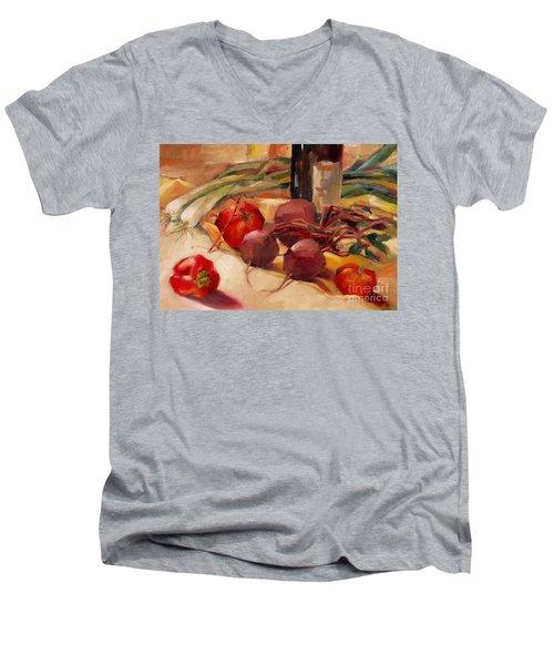 Tom's Bounty Men's V-Neck T-Shirt