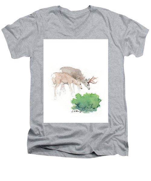 Too Dear Men's V-Neck T-Shirt by C Sitton
