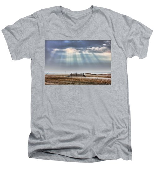 Touched By Heaven Men's V-Neck T-Shirt