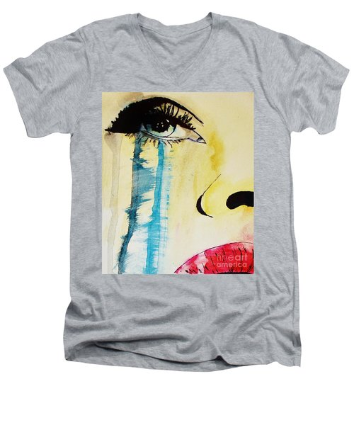 Tougher Than You Think 2 Men's V-Neck T-Shirt